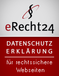 eRecht24-Siegel